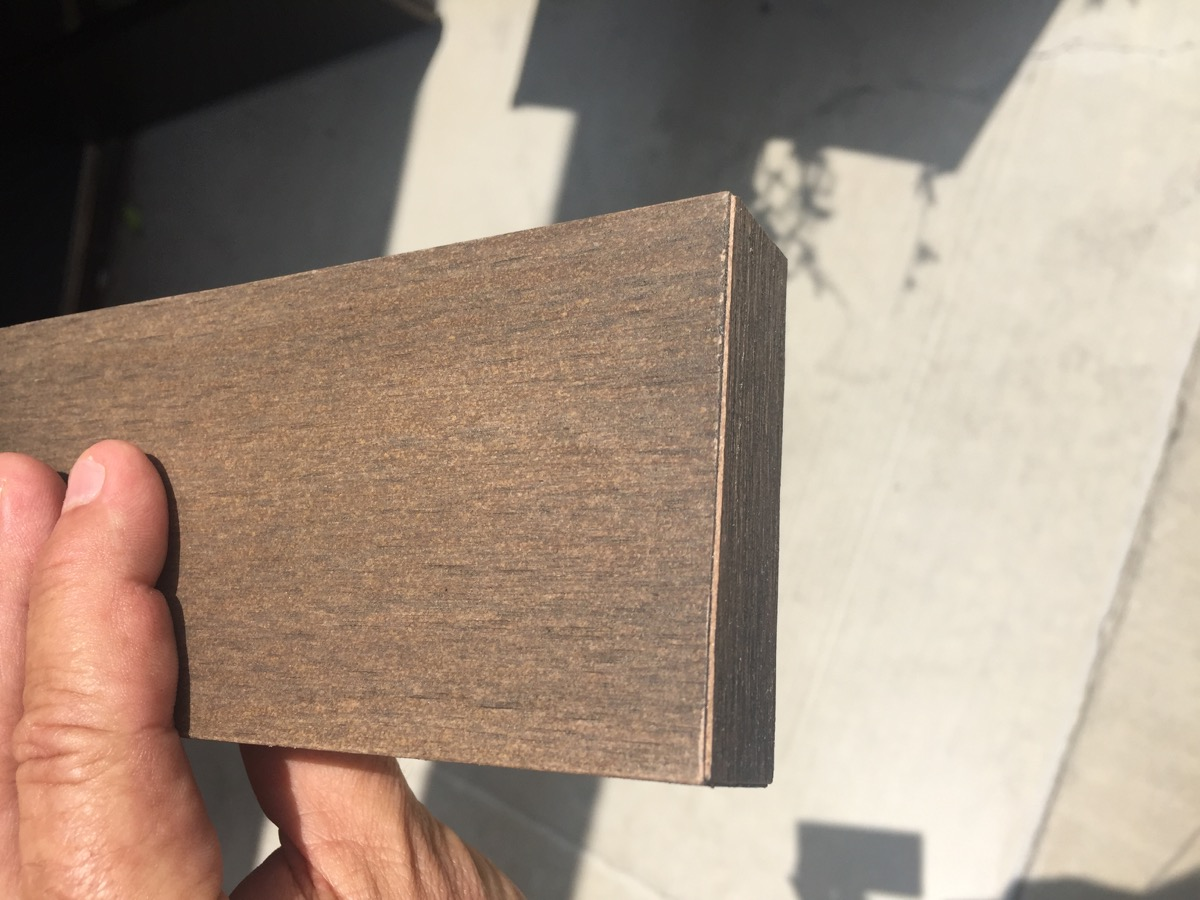 TruCap, veneer sample