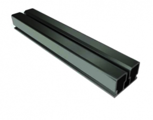 Aluminum System profile RS black