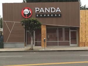 Panda Express Restaurant in Westwood