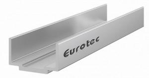Aluminium system profile connector EVO