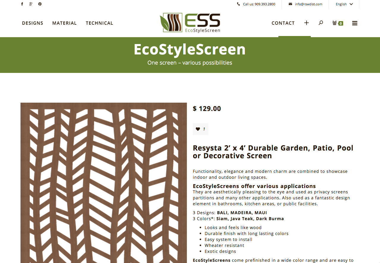 EcoStyleScreen online now - safe 25%