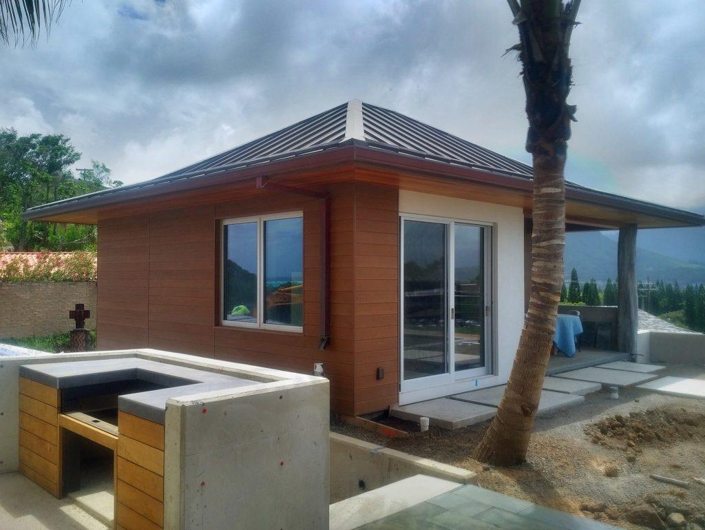 Villa Terrace, Resysta Siding
