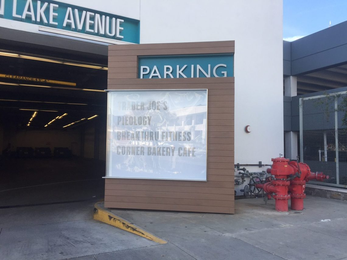 Cladding, Parkingplace