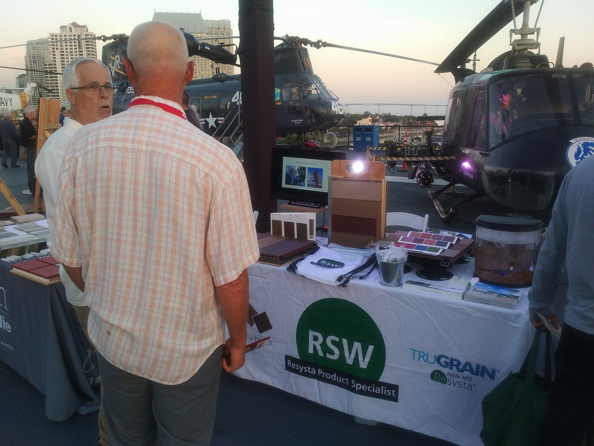 Our RSW Dist Booth