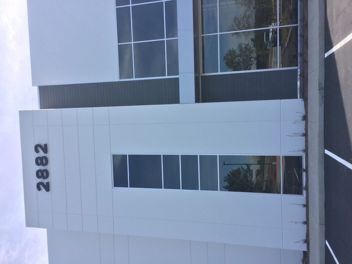 Siding, Design accent in new facade with RESYSTA