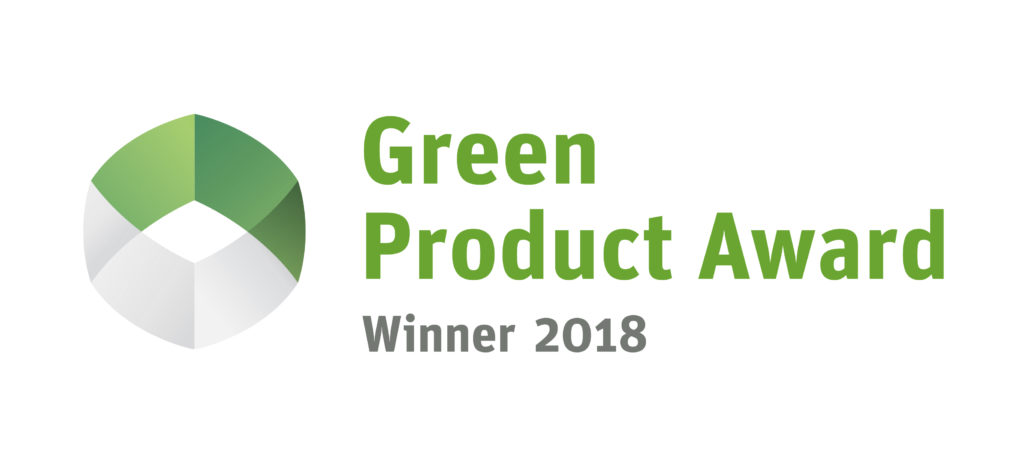 "Winner ""Green product award"""