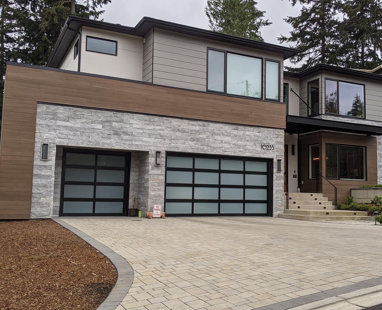 Modern house in Bellevue, Washington